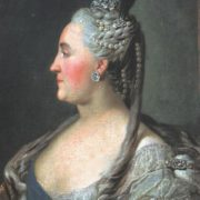 Portrait of Empress Catherine II. 1763