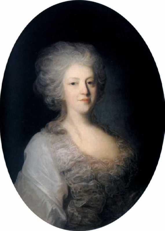 Portrait of Praskovia Nikolaevna Lanskaya