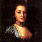 Portrait of Princess Praskovia Ivanovna Golitsyna