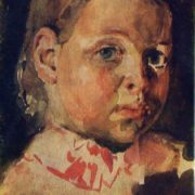 Portrait of a girl. 1882
