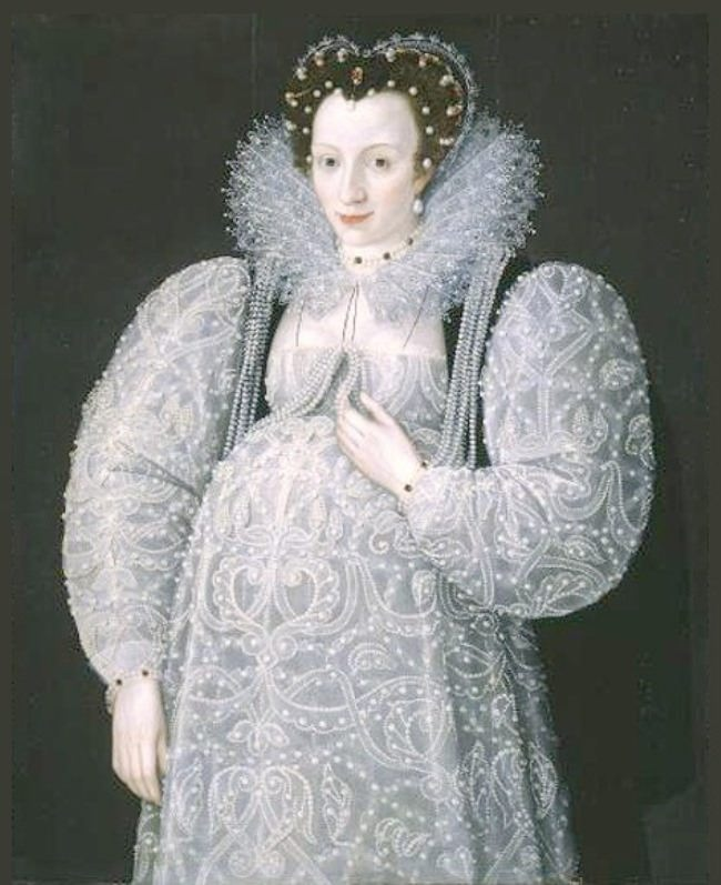 Portrait of an Unknown Lady by Marcus Gheeraerts the Younger