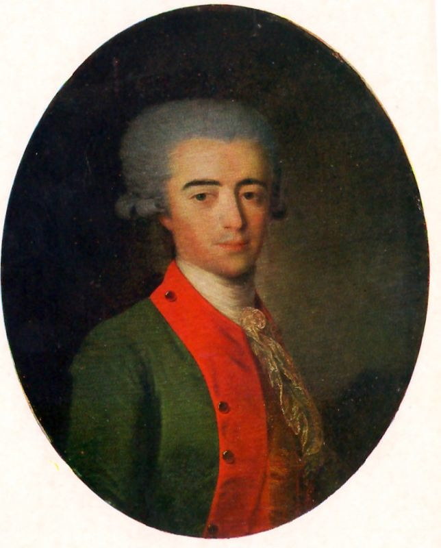 Portrait of an Unknown Man. 1787