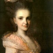 Portrait of an Unknown Woman in a Pink Dress