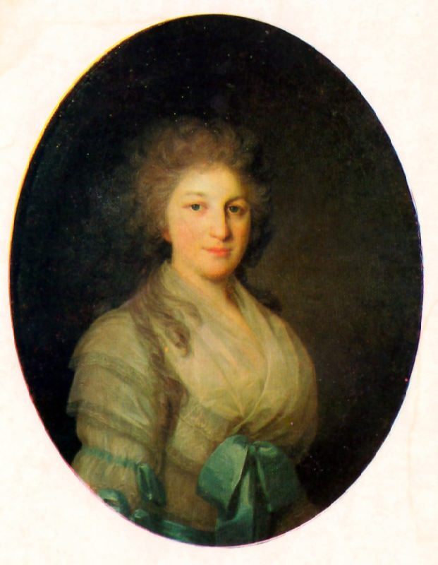 Portrait of the Unknown Woman. 1790s