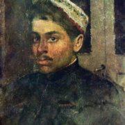 Portrait of the artist S. P. Kostenko. 1880s