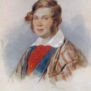Prince Pyotr Andreevich Vyazemsky (1792-1878). 1830s