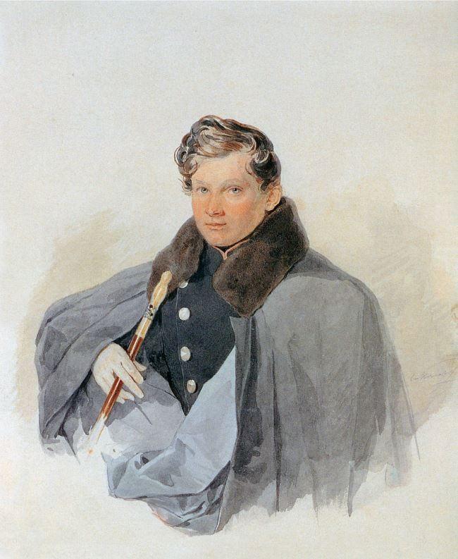 Prince Sergey Vasilyevich Trubetskoy (1815-1859). 1835