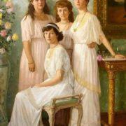 Princesses Anastasia, Tatyana, Maria, Olga Romanova