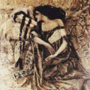 Tamara and Demon, 1891