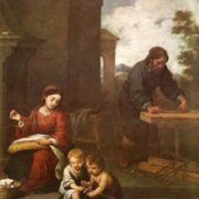 The Holy Family and child St. John the Baptist, 1655-1660, Museum of Fine Arts, Budapest, Hungary