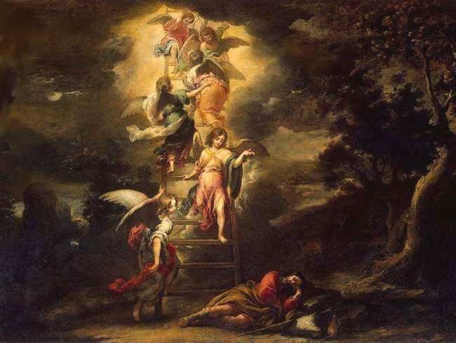 The dream of Jacob, or the Ladder of the Angels, 1660 - 1665