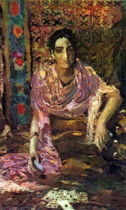 The fortune-teller. 1895