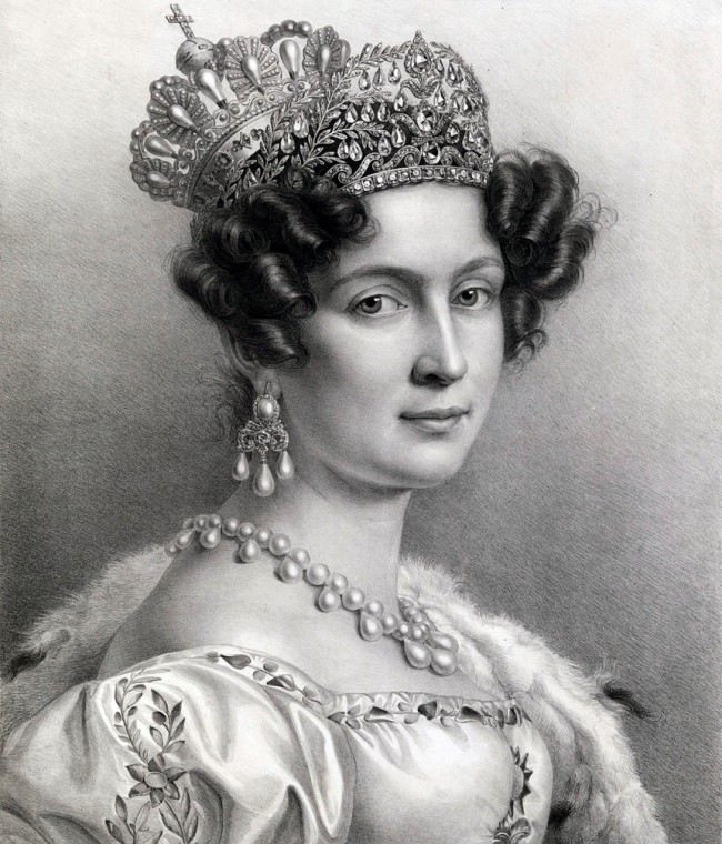 Therese of Saxe-Hildburghausen, wife of the King of Bavaria, Ludwig I