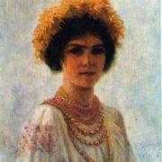 Ukrainian girl. 1904