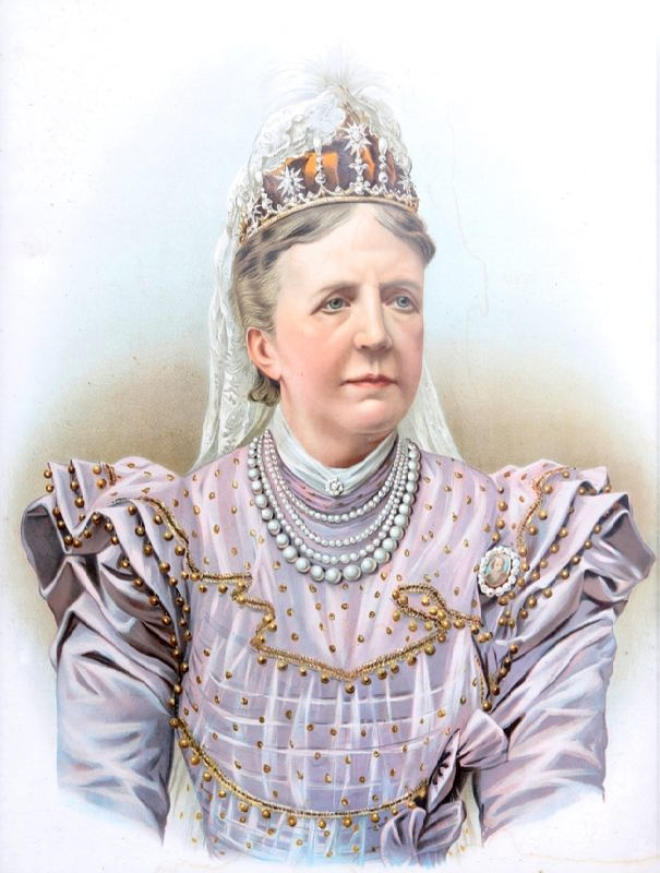 Victoria of Baden, wife of the King of Sweden Gustav V, Queen of Sweden
