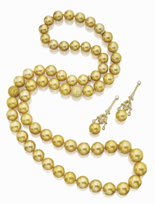 Yellow pearls