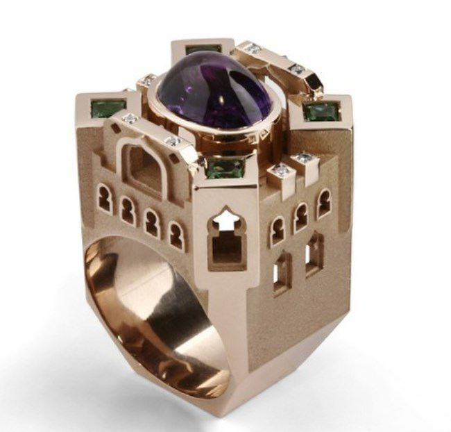 Awesome ring by Philippe Tournaire