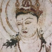 Bodhisattva. Fragment, end of VII – beginning VIII