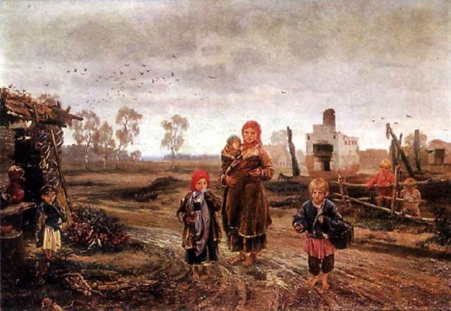 Fire victims. 1871