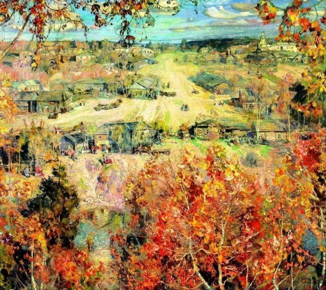 Golden Autumn, 1913