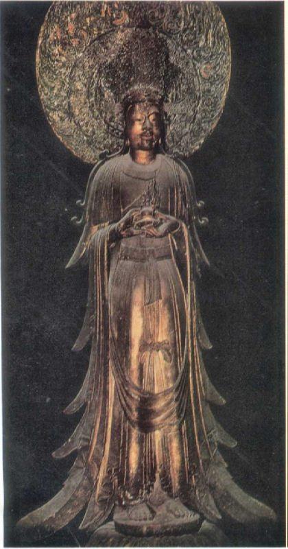 Guze Kannon. VII century