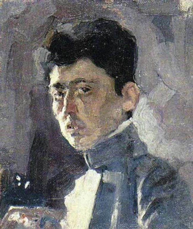 Isaak Brodsky, Self-portrait