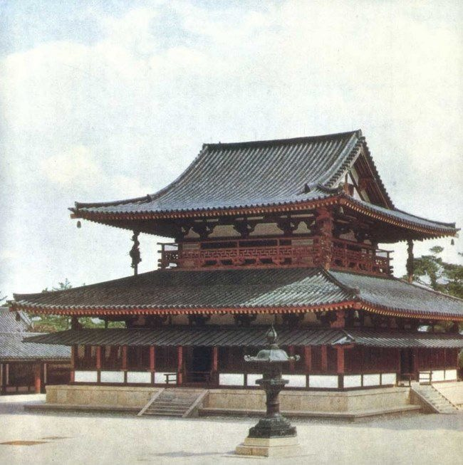 Kondo of Horyuji monastery, VII century