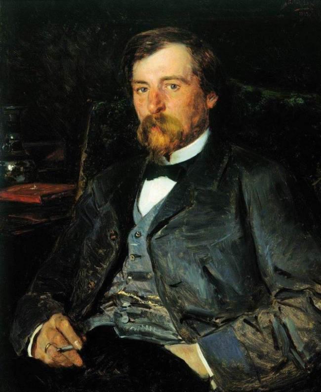 Makovsky Vladimir Yegorovich. Portrait of Pryanishnikov