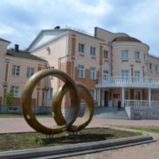 Monument to Engagement Rings in Birobidzhan, Russia