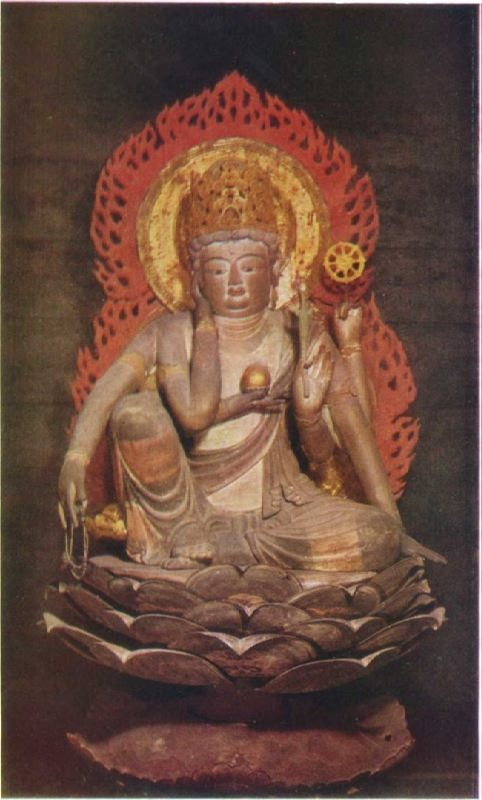 Nyoirin Kannon, IX century