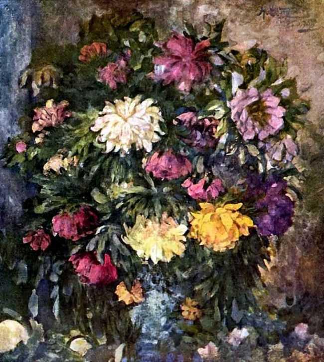 Peonies, 1908