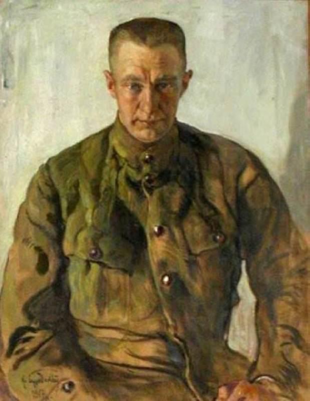 Portrait of A.F. Kerensky