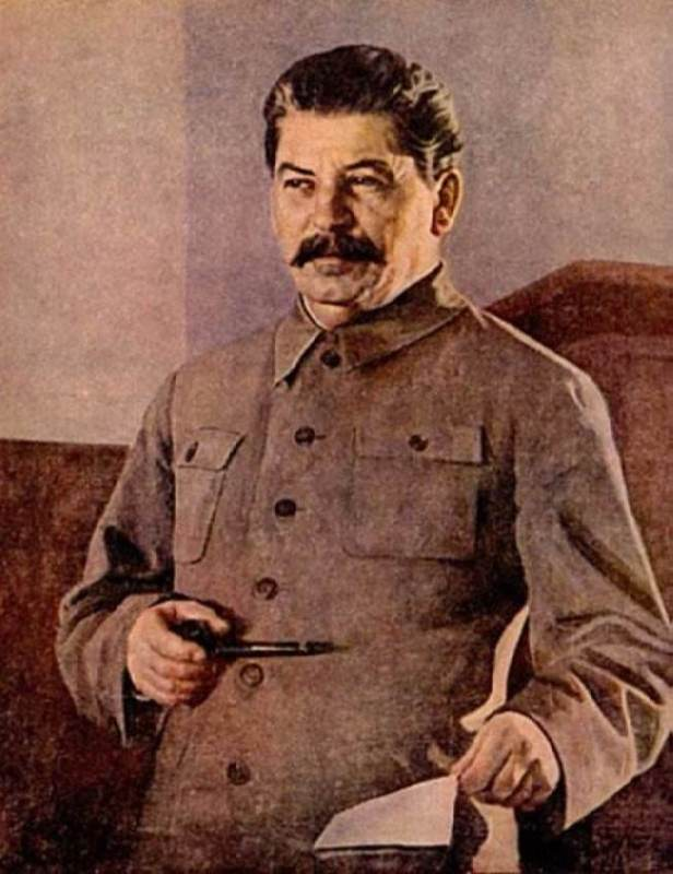 Portrait of I.V. Stalin
