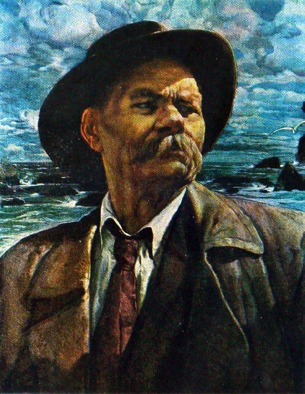 Portrait of M. Gorky. 1927