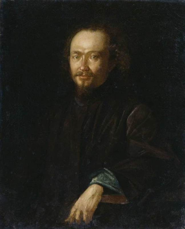 Portrait of V.F. Belyustina,1870
