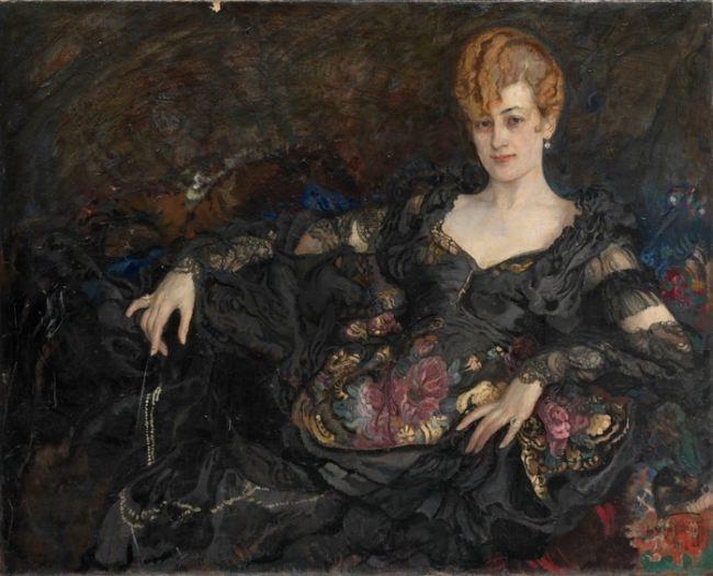 Portrait of a Lady. 1916
