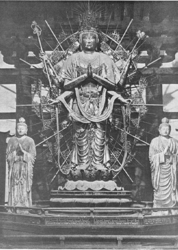 Statue of Fukukenjaku Kannon, mid-8th century