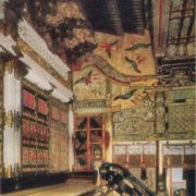 Stone Hall. Funerary ensemble in Nikko