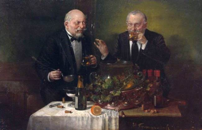 Tasters, 1860s, Wood, oil