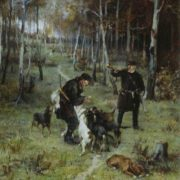 The End of Hunting, 1884