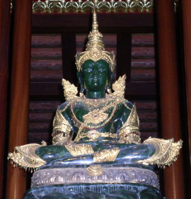 The Jade Buddha of the 17th century. India