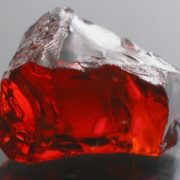 Untreated garnet from Afghanistan