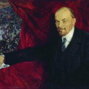 V.I. Lenin and the manifestation
