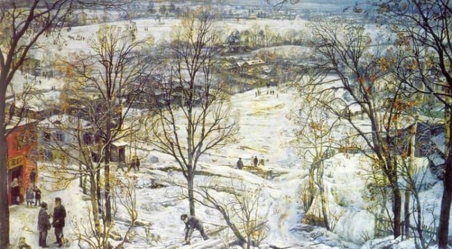 Winter, 1922
