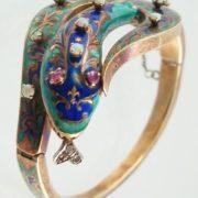 Charming snake bracelet