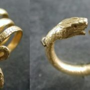 Gold ring. The Roman Empire, II century BC