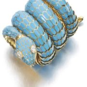 Gorgeous snake bracelet