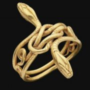 In Ancient Greece and Rome, bracelets in the form of snakes were supposed to give women protection from diseases and fertility