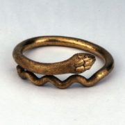 Ring excavated at Pompeii, Italy