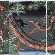 Utagawa Yoshitsuya, 1858
